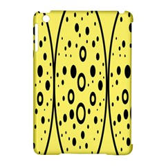 Easter Egg Shapes Large Wave Black Yellow Circle Dalmation Apple Ipad Mini Hardshell Case (compatible With Smart Cover) by Alisyart