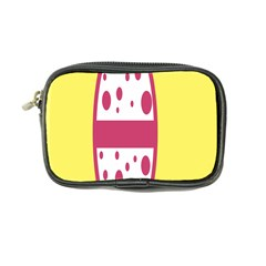Easter Egg Shapes Large Wave Pink Yellow Circle Dalmation Coin Purse by Alisyart