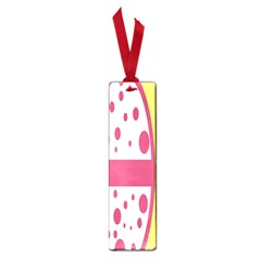 Easter Egg Shapes Large Wave Pink Yellow Circle Dalmation Small Book Marks