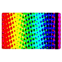 Comic Strip Dots Circle Rainbow Apple Ipad 3/4 Flip Case by Alisyart
