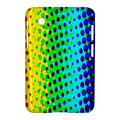 Comic Strip Dots Circle Rainbow Samsung Galaxy Tab 2 (7 ) P3100 Hardshell Case  by Alisyart