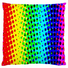 Comic Strip Dots Circle Rainbow Standard Flano Cushion Case (one Side) by Alisyart