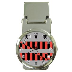 Falg Sign Star Line Black Red Money Clip Watches by Alisyart