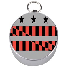 Falg Sign Star Line Black Red Silver Compasses by Alisyart