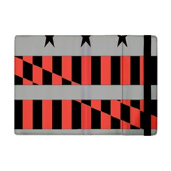 Falg Sign Star Line Black Red Ipad Mini 2 Flip Cases by Alisyart