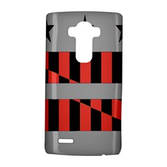 Falg Sign Star Line Black Red Lg G4 Hardshell Case by Alisyart