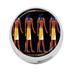 Egyptian Mummy Guard Treasure Monster 4 Port Usb Hub (two Sides)  by Alisyart