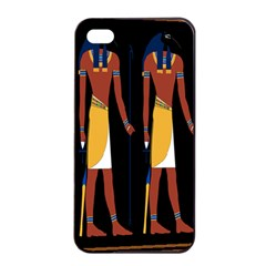 Egyptian Mummy Guard Treasure Monster Apple Iphone 4/4s Seamless Case (black) by Alisyart