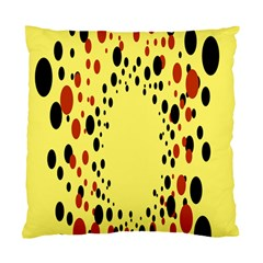 Gradients Dalmations Black Orange Yellow Standard Cushion Case (one Side) by Alisyart
