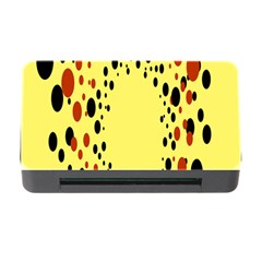 Gradients Dalmations Black Orange Yellow Memory Card Reader With Cf by Alisyart