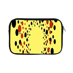 Gradients Dalmations Black Orange Yellow Apple Ipad Mini Zipper Cases by Alisyart