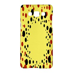 Gradients Dalmations Black Orange Yellow Samsung Galaxy A5 Hardshell Case  by Alisyart