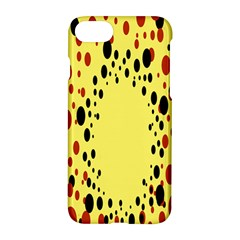 Gradients Dalmations Black Orange Yellow Apple Iphone 7 Hardshell Case by Alisyart