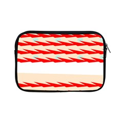 Chevron Wave Triangle Red White Circle Blue Apple Ipad Mini Zipper Cases by Alisyart