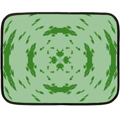 Green Hole Fleece Blanket (mini) by Alisyart