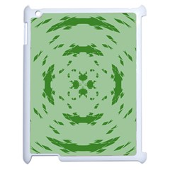 Green Hole Apple Ipad 2 Case (white) by Alisyart