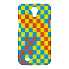 Optical Illusions Plaid Line Yellow Blue Red Flag Samsung Galaxy Mega 6 3  I9200 Hardshell Case by Alisyart