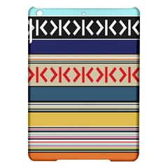 Original Code Rainbow Color Chevron Wave Line Ipad Air Hardshell Cases by Alisyart