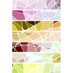 Geometric Mosaic Line Rainbow 5 5  X 8 5  Notebooks by Alisyart