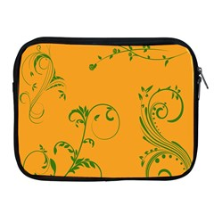 Nature Leaf Green Orange Apple Ipad 2/3/4 Zipper Cases by Alisyart