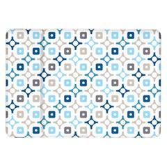 Plaid Line Chevron Wave Blue Grey Circle Samsung Galaxy Tab 8 9  P7300 Flip Case by Alisyart