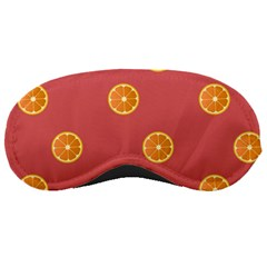 Oranges Lime Fruit Red Circle Sleeping Masks by Alisyart