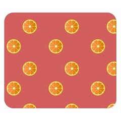 Oranges Lime Fruit Red Circle Double Sided Flano Blanket (small)  by Alisyart
