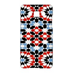 Oriental Star Plaid Triangle Red Black Blue White Samsung Galaxy A5 Hardshell Case  by Alisyart