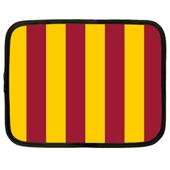 Red Yellow Flag Netbook Case (large) by Alisyart