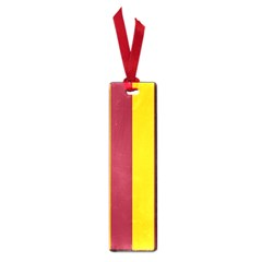 Red Yellow Flag Small Book Marks by Alisyart