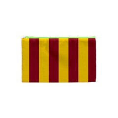 Red Yellow Flag Cosmetic Bag (xs) by Alisyart
