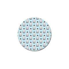 Penguin Animals Ice Snow Blue Cool Golf Ball Marker (10 Pack) by Alisyart