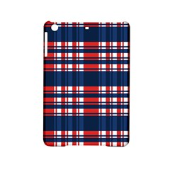 Plaid Red White Blue Ipad Mini 2 Hardshell Cases by Alisyart