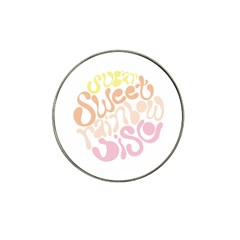 Sugar Sweet Rainbow Hat Clip Ball Marker by Alisyart