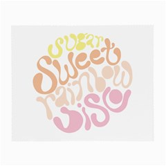 Sugar Sweet Rainbow Small Glasses Cloth (2 Side) by Alisyart