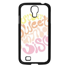 Sugar Sweet Rainbow Samsung Galaxy S4 I9500/ I9505 Case (black) by Alisyart