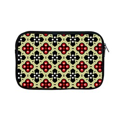 Seamless Floral Flower Star Red Black Grey Apple Macbook Pro 13  Zipper Case by Alisyart
