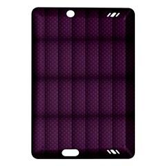 Plaid Purple Amazon Kindle Fire Hd (2013) Hardshell Case by Alisyart