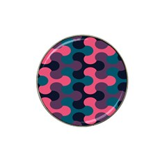 Symmetry Celtic Knots Contemporary Fabric Puzzel Hat Clip Ball Marker (4 Pack) by Alisyart