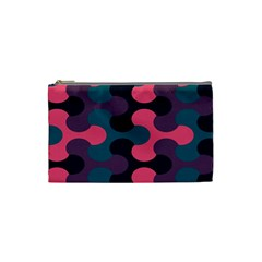 Symmetry Celtic Knots Contemporary Fabric Puzzel Cosmetic Bag (small)  by Alisyart