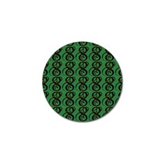 Abstract Pattern Graphic Lines Golf Ball Marker by Amaryn4rt