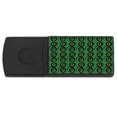 Abstract Pattern Graphic Lines Usb Flash Drive Rectangular (4 Gb) by Amaryn4rt