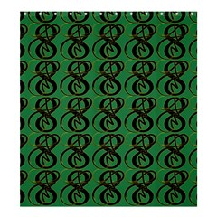 Abstract Pattern Graphic Lines Shower Curtain 66  X 72  (large)  by Amaryn4rt