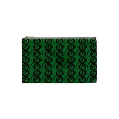 Abstract Pattern Graphic Lines Cosmetic Bag (small)  by Amaryn4rt