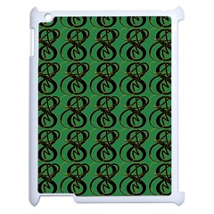 Abstract Pattern Graphic Lines Apple Ipad 2 Case (white) by Amaryn4rt