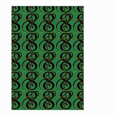Abstract Pattern Graphic Lines Small Garden Flag (two Sides) by Amaryn4rt