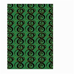 Abstract Pattern Graphic Lines Large Garden Flag (two Sides) by Amaryn4rt