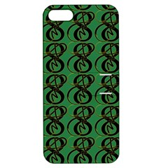 Abstract Pattern Graphic Lines Apple Iphone 5 Hardshell Case With Stand by Amaryn4rt