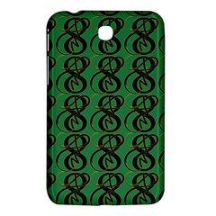 Abstract Pattern Graphic Lines Samsung Galaxy Tab 3 (7 ) P3200 Hardshell Case  by Amaryn4rt