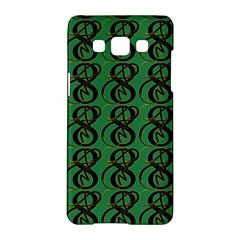 Abstract Pattern Graphic Lines Samsung Galaxy A5 Hardshell Case  by Amaryn4rt